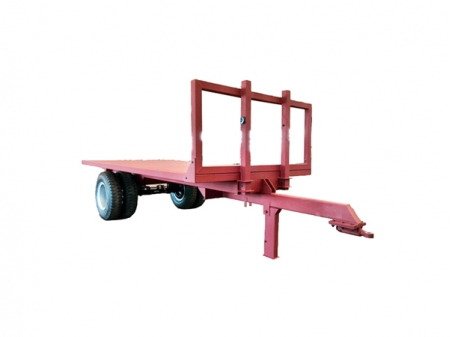 Single Axle Flatbed Trailer
